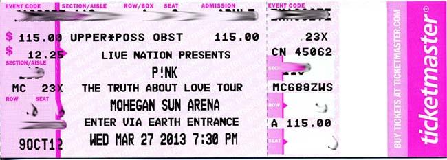 concert press release template - ticketmaster goes pink concert katie